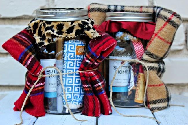 Girls weekend gift mason jar