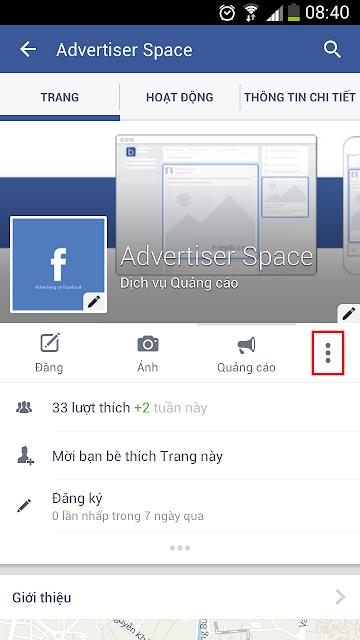 Cách tạo check in cho Fanpage Facebook của bạn