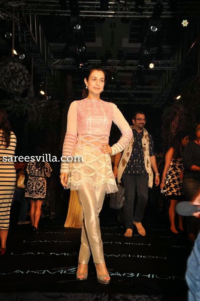 Amisha patel at Lakme Fashion Week Summer 2014