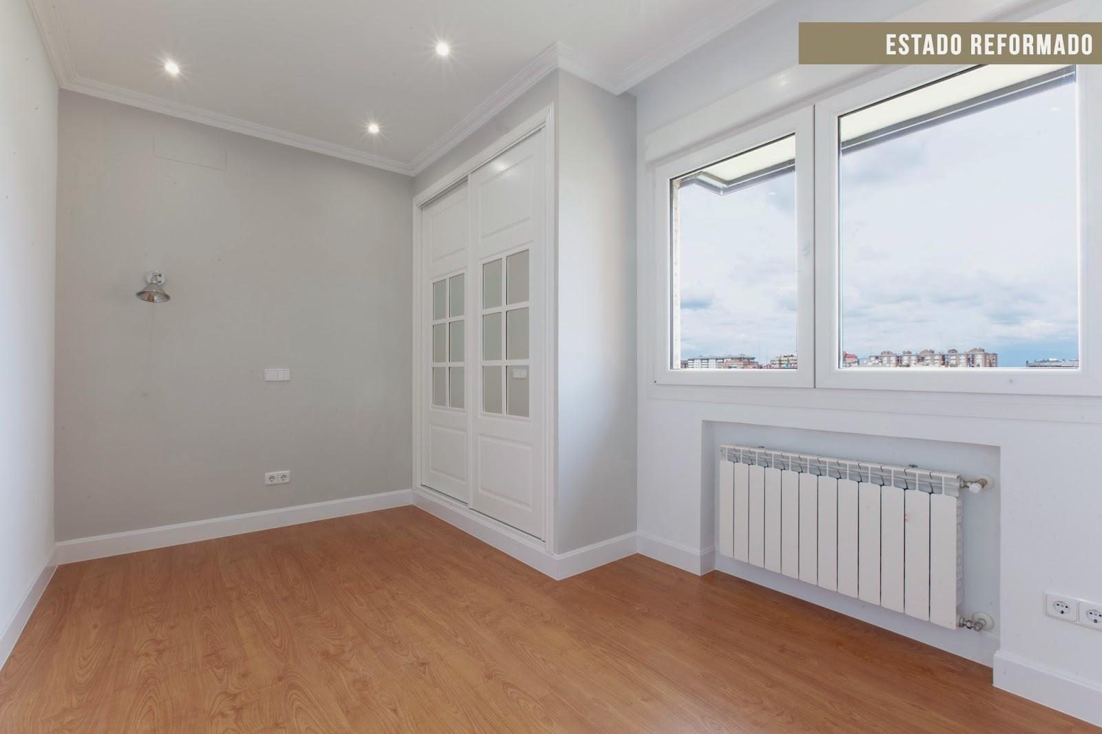 Reforma integral antes y despu s de una vivienda para una familia de 4 decoraci n - Rodapies altos ...