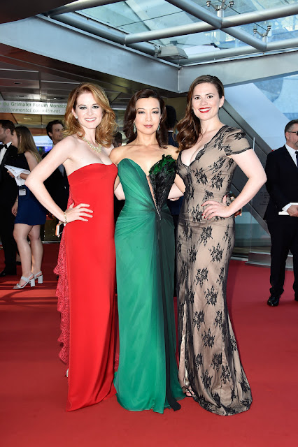 Actress @ Hayley Atwell , Ming-Na Wen, Sarah Drew - 55th Monte-Carlo TV Festival closing ceremony