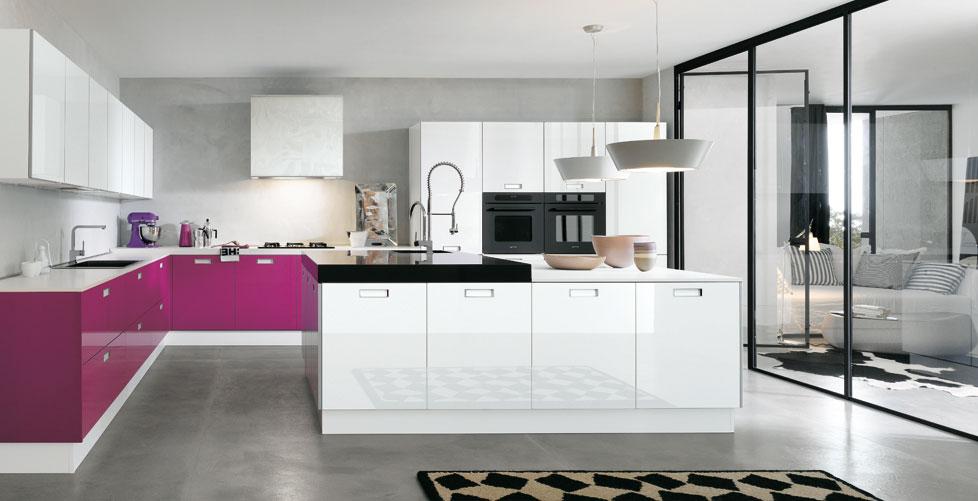 Dise os para gente atrevida cocinas con estilo - Cocinas blancas de diseno ...