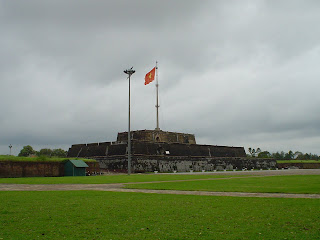 Flag Citadel of Hue, Vietnam