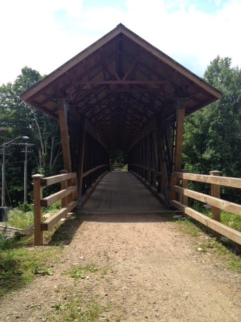 covered bridge rail trail