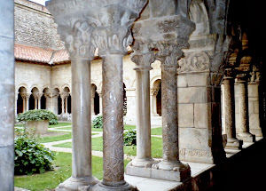 The Cloisters at Fontfroid Abbey