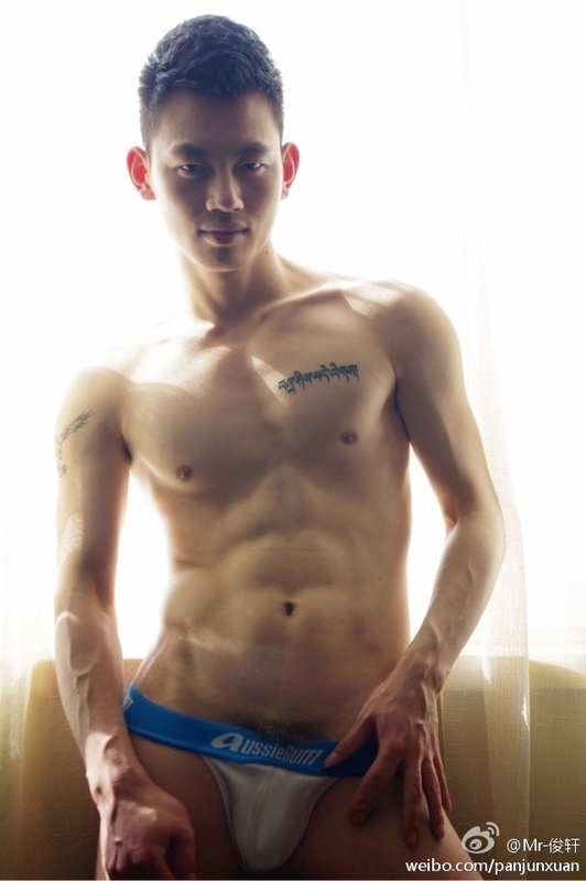 16149436634942d10c503255046693e881d0db4c Sexy Naked Chinese Stud Jun Xuan Shows off His Hot Asian Cock