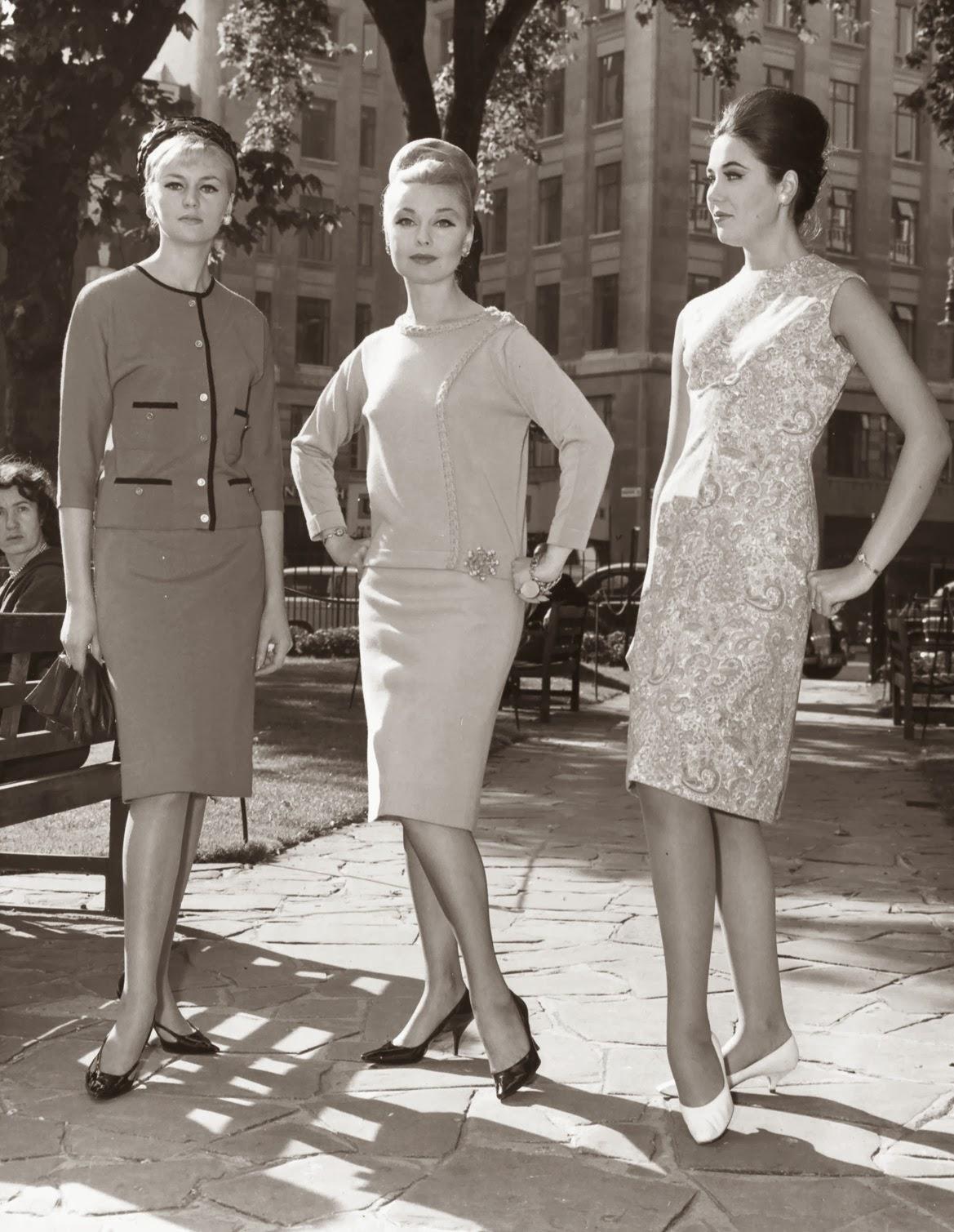 London Fashion 1962 Vintage Everyday