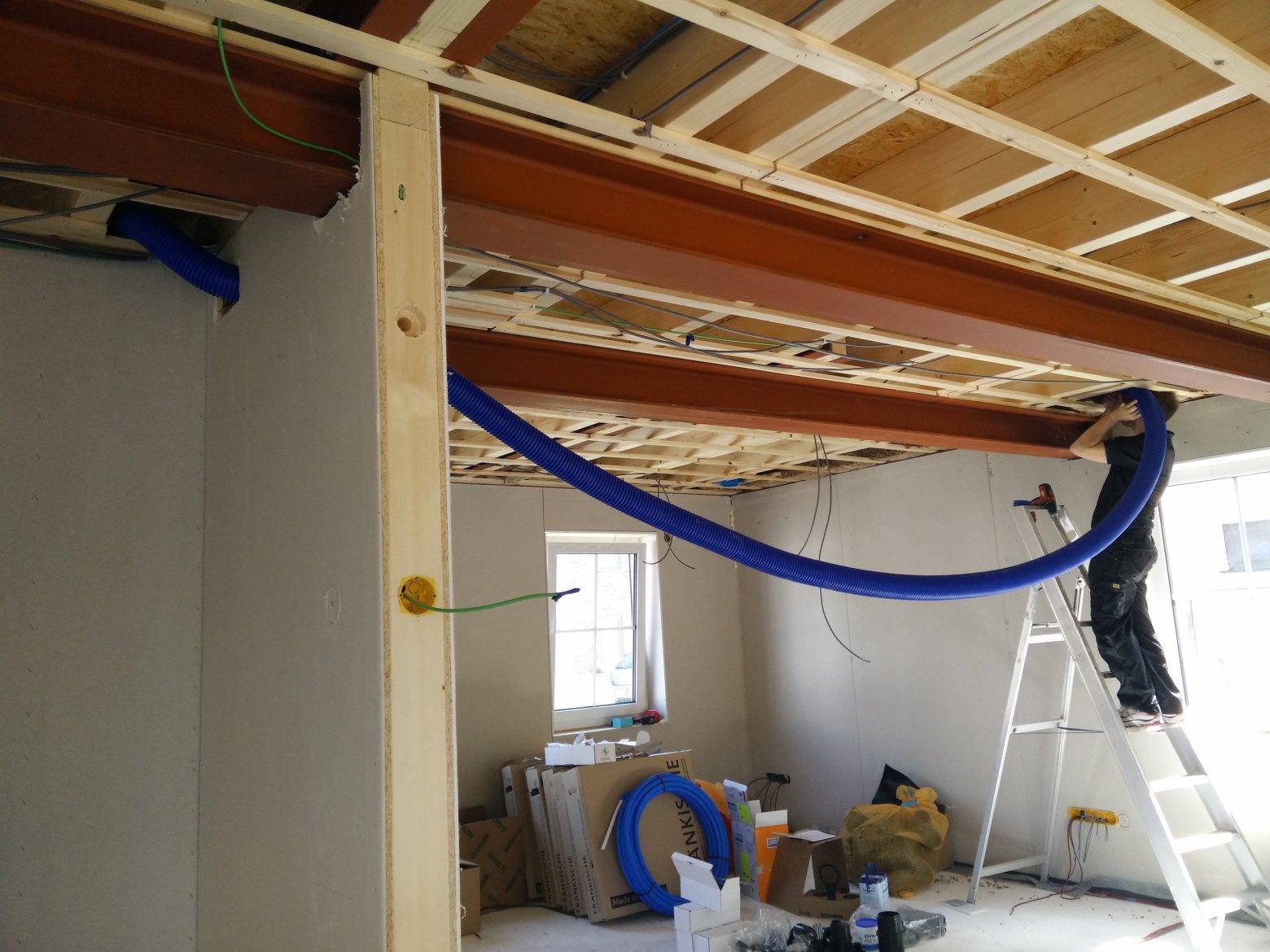 Bjorn en julie bouwen!: week 3 & 4   elektriciteit & ventilatie