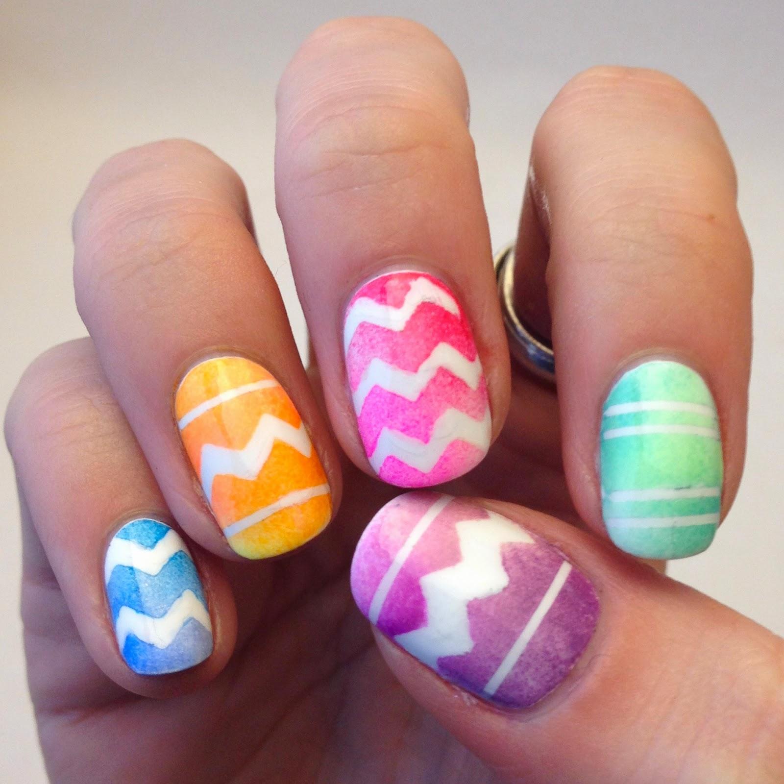 Casa De Polish Easter Egg Nails