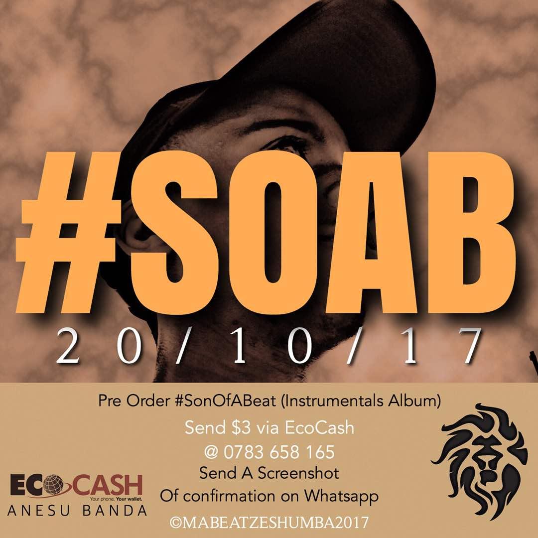 PRE-ORDER #SOAB BEAT TAPE
