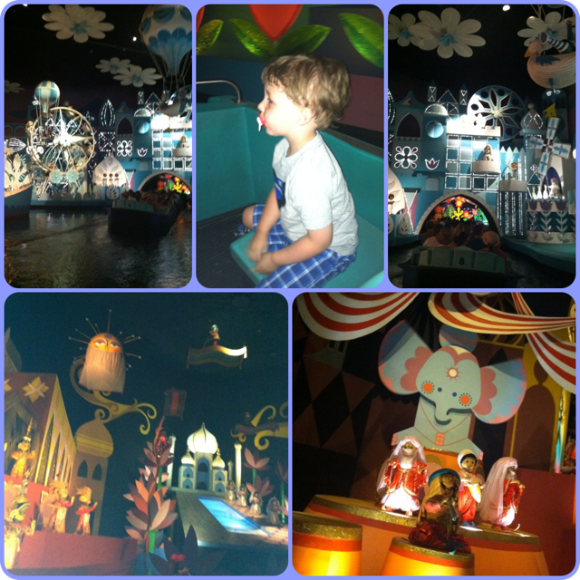 it's a small world collage
