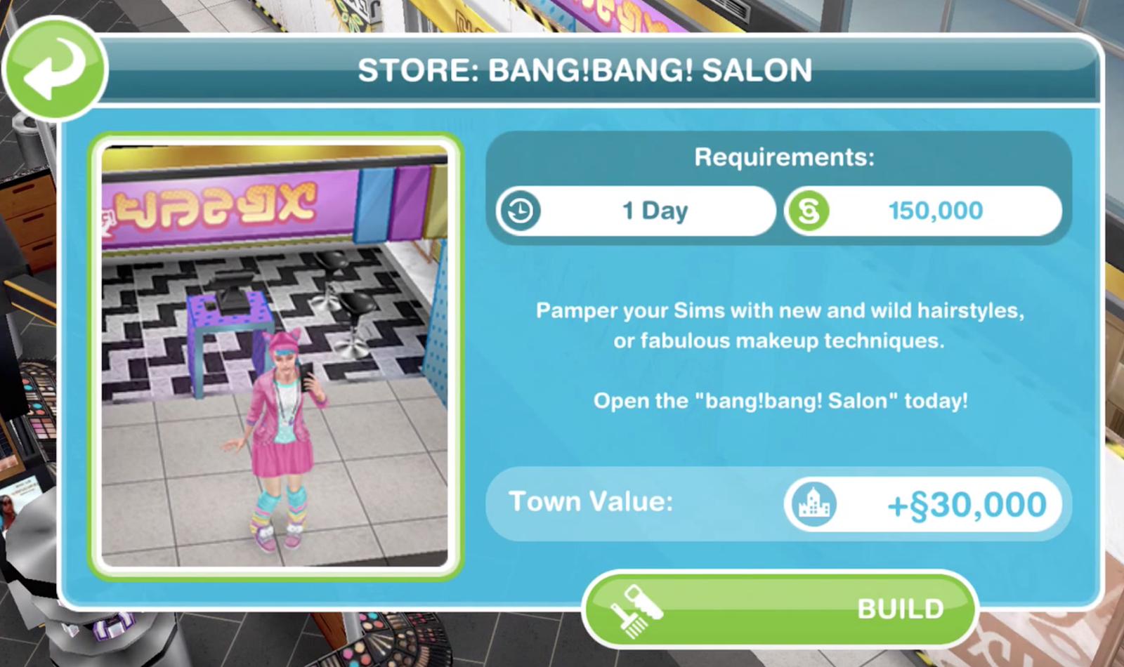 Sims Freeplay Make Up Artist Hobby Glitz And Glam Update