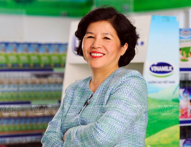 Bà Mai Kiều Liên - Chủ tịch Hội đồng quản trị của Vinamilk