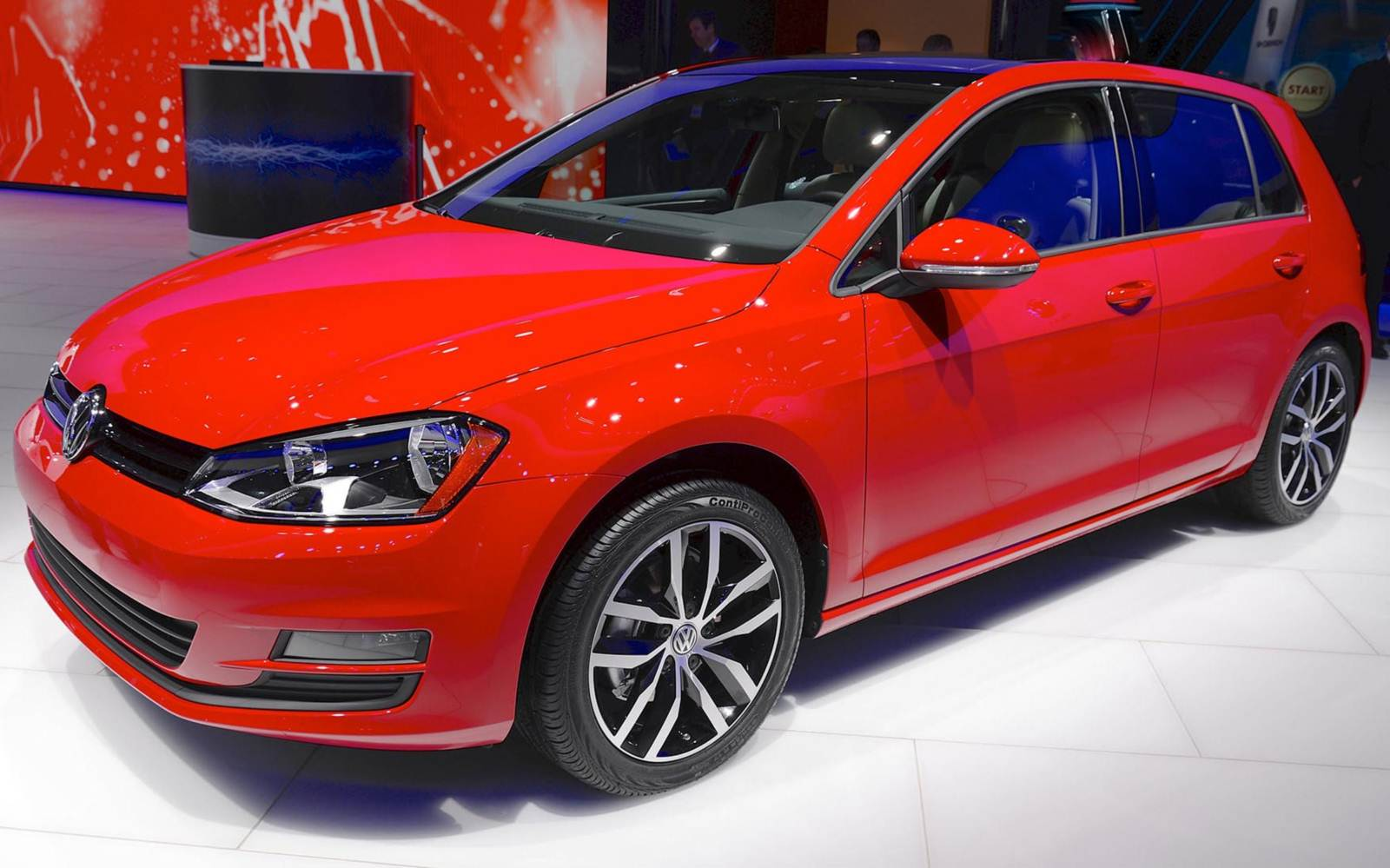 Novo VW Golf 2015 - EUA
