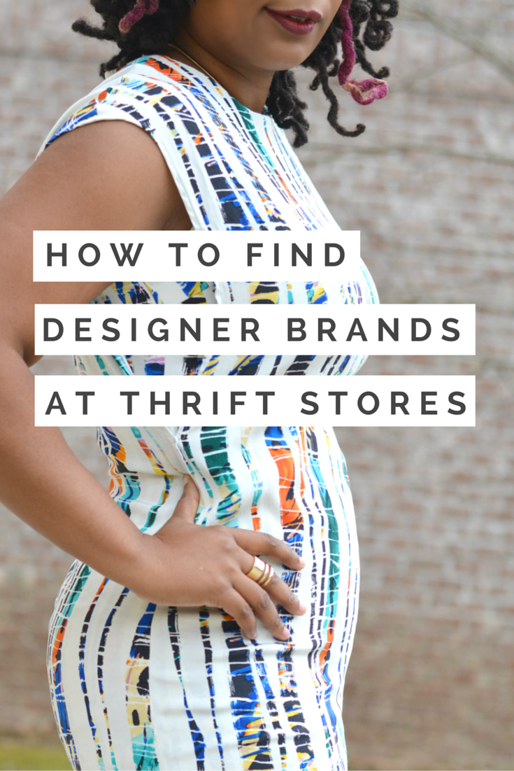 how to find designer brands at thrift stores