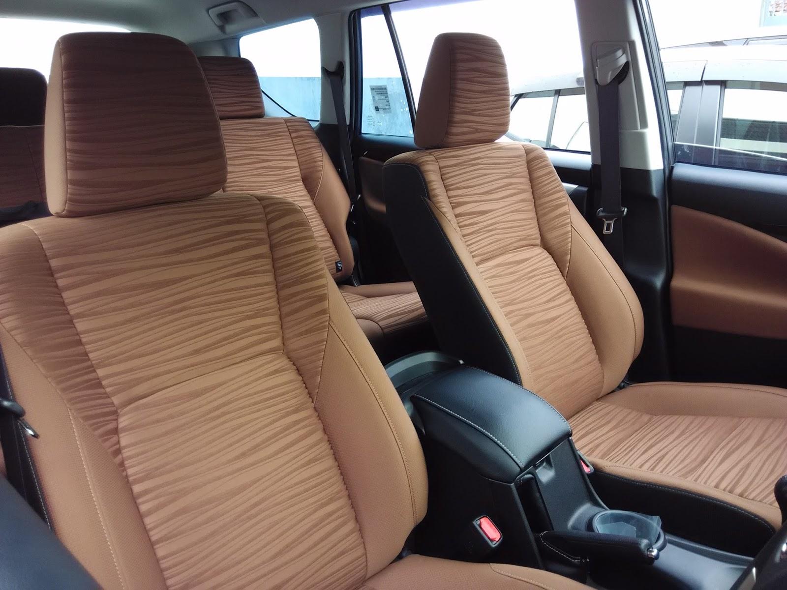 Melihat Interior All New Innova Tipe V Dikta Toyota
