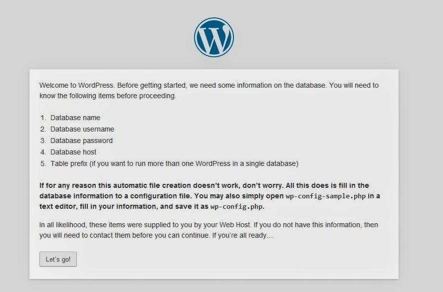 Belajar Membuat website dengan wordpress