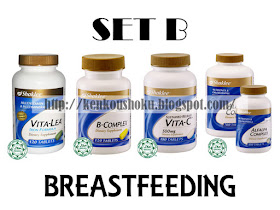 Set B (Breastfeeding)