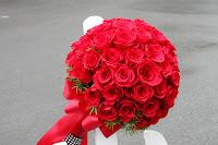 Hoa cưới kiểu tròn 2