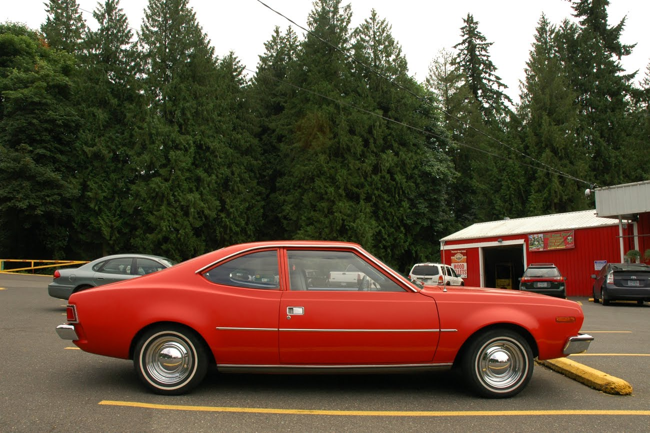 old parked cars 1973 amc hornet hatchback. Black Bedroom Furniture Sets. Home Design Ideas