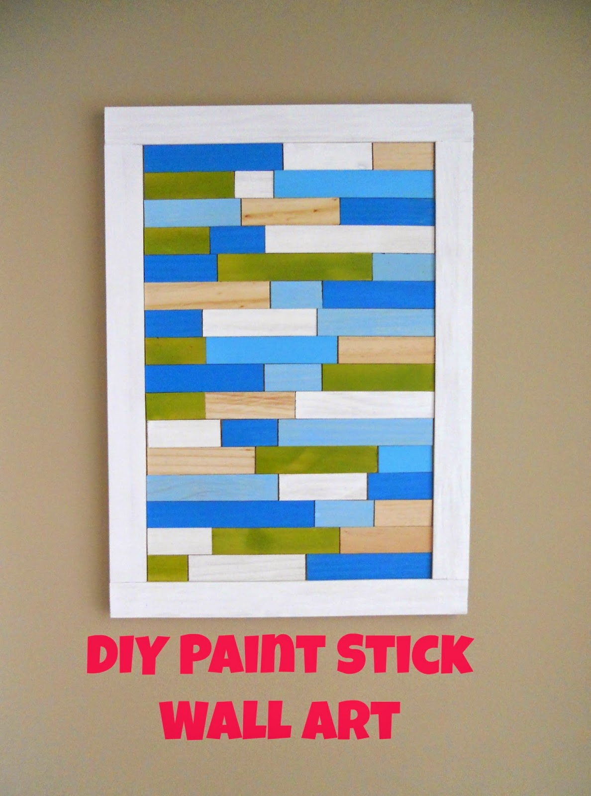 http://decoratingcents.blogspot.com/2014/04/diy-paint-stick-wall-art.html