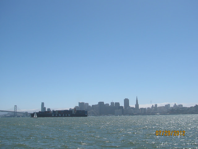 San Francisco Skyline from Treasure Island