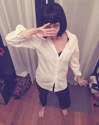 Meg as Mia Wallace