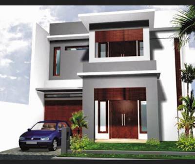 desain rumah minimalis 2 lantai type 36 dan 60