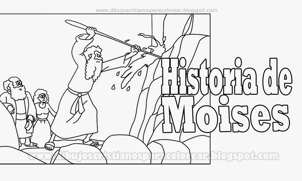 Images of Dibujos Para Colorear De Moises - #CALTO