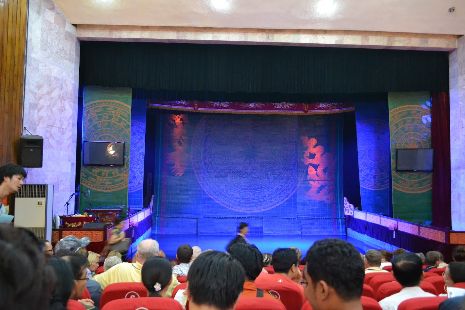 Stage of Thang Long Water Puppet Theatre, hanoi