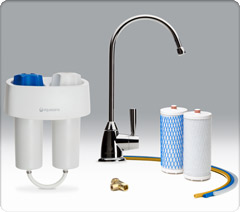 i recently had the opportunity to review premium under counter water filter system ever since we moved into our home a year ago weu0027ve noticed