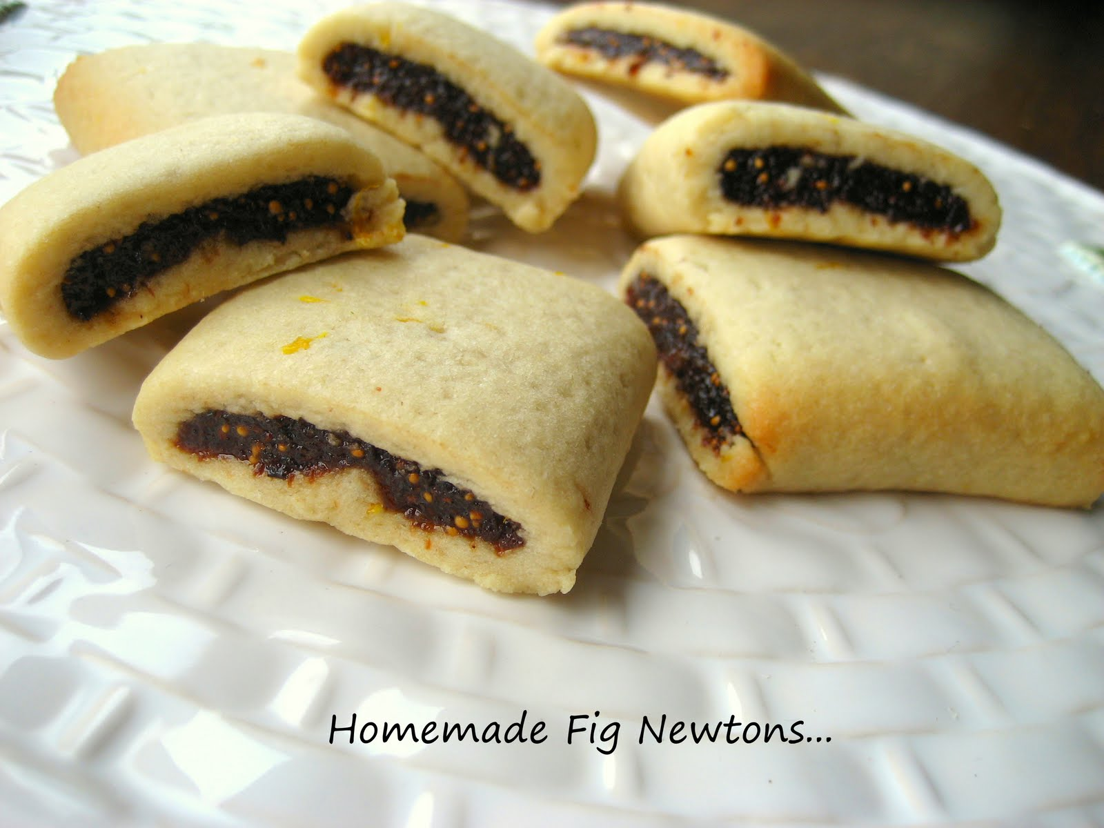 Home Cooking In Montana: Homemade Fig Newtons or Fig Bars.