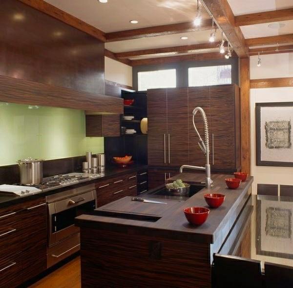 Modernas cocinas peque as colores en casa - Colores cocinas pequenas ...