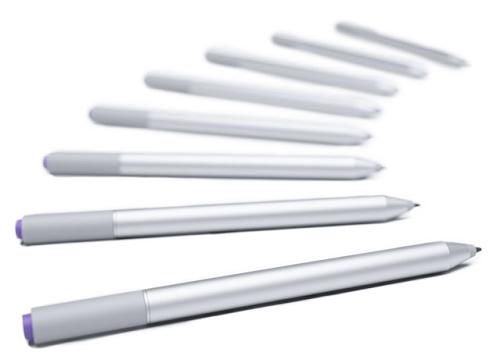 La Surface Pro Pen con tecnologia N-Trig del Microsoft Surface Pro 3