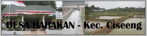 Desa Babakan - Kec. Ciseeng, Kab. Bogor