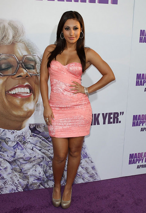 Francia Raisa Spicy Stills 5