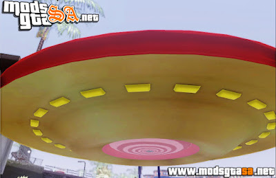 SA - Mod Anty Gravity UFO (Anti Gravidade) V2