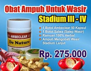 obat wasir stadium 4