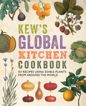 portada del libro de cocina de los jardines kew