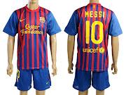 Camisetas futbol FC Barcelona y R. Madrid temp. 20112012 varias tallas .