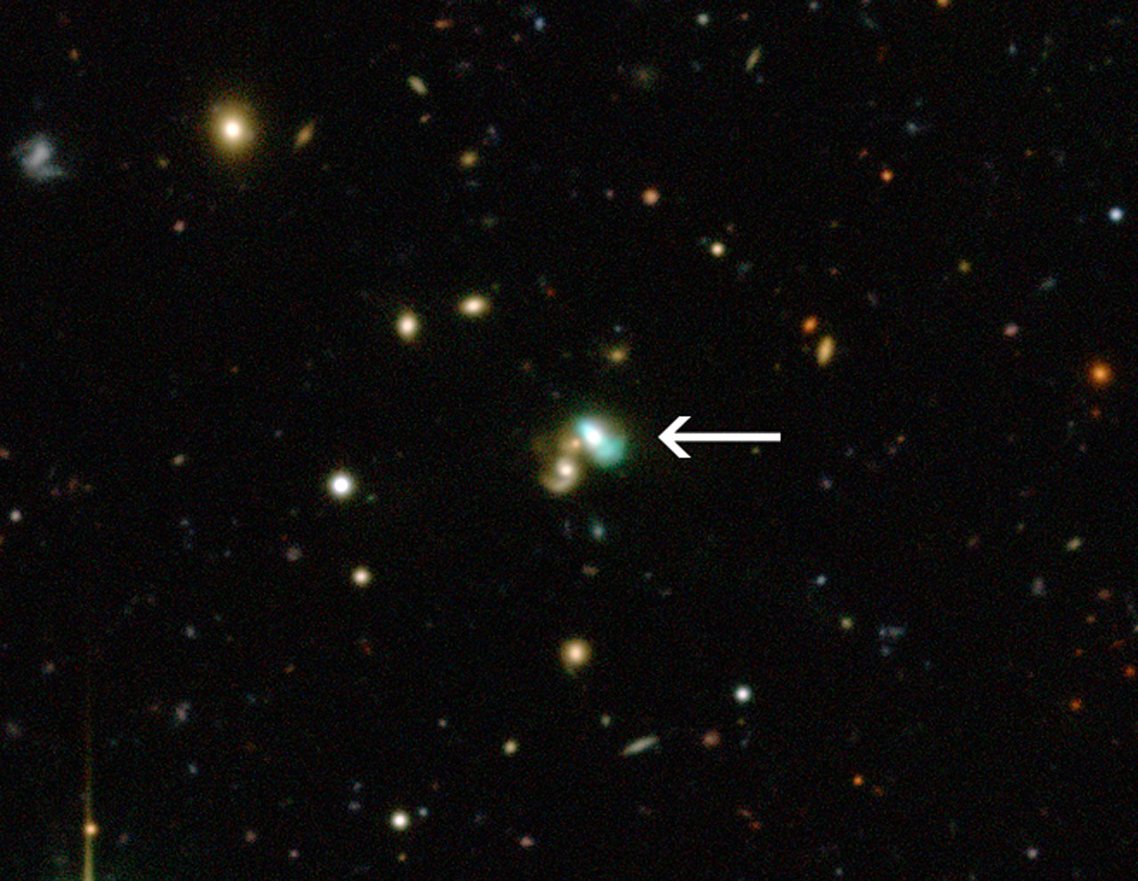 La galassia J2240 eccezionalmente luminosa, la formazione di pianeti rocciosi attorno alle Nane Brune e le molecole organiche di Marte