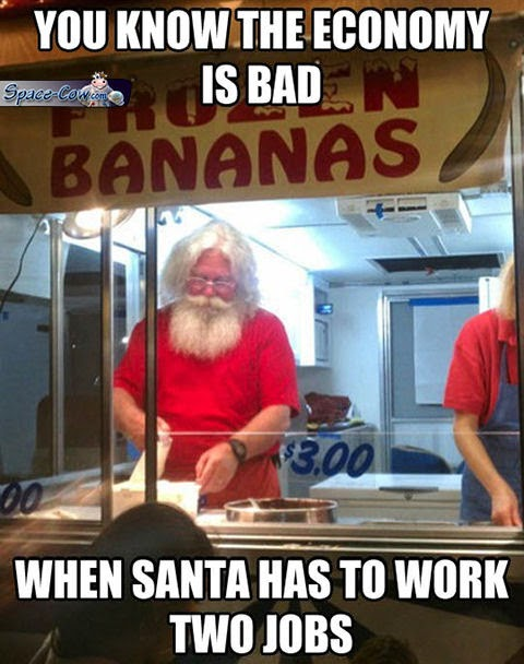 funny people Santa picture