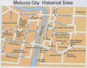 Melacca Map