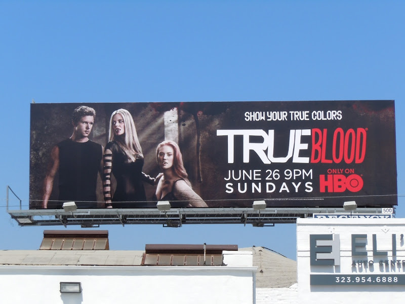 True Blood season 4 Jason Stackhouse billboard