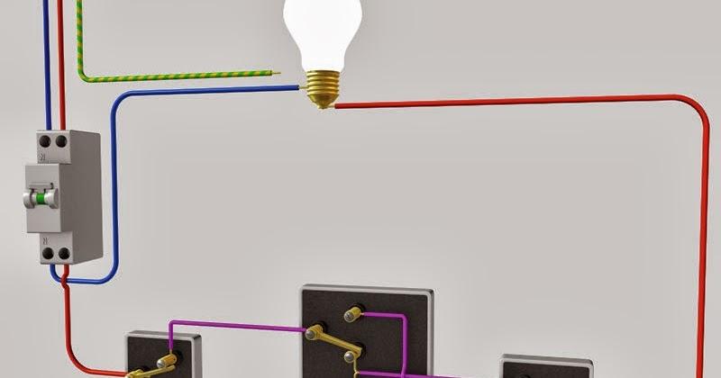 Schema electrique le raccordement de 3 interrupteurs va for Quelle couleur avec le bleu 7 schema electrique le raccordement de 3 interrupteurs va