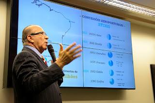 Mais de 400 manifestações de empresas mostram sucesso do programa de concessões, diz ministro