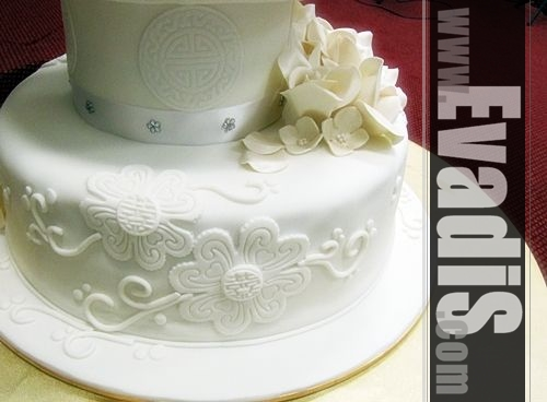 Picture of Base Tiers Wedding CAkes