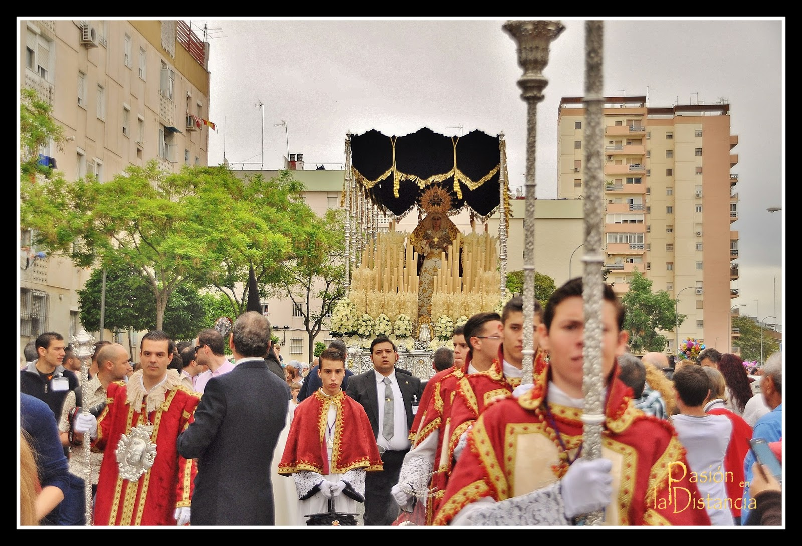 Palio del Rosario Doloroso de la Hermandad del Polígono de San Pablo 2014
