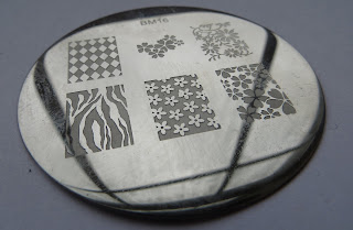 BM16 stamping plate