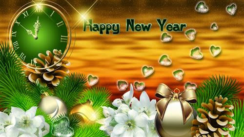 Happy New Year 2016 3D Wallpapers